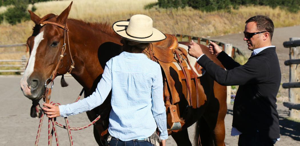 Horseback Riding in Park City, Utah