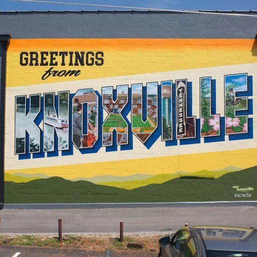 Knoxville Downtown Mural Walking Tour   Walking Tour Map