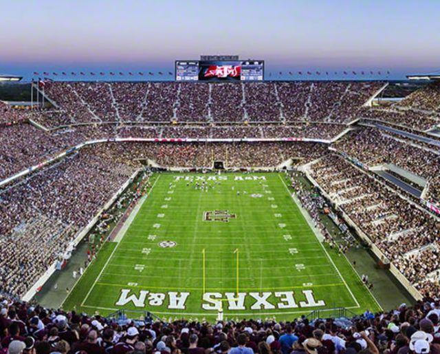 Texas A&M University football stadium