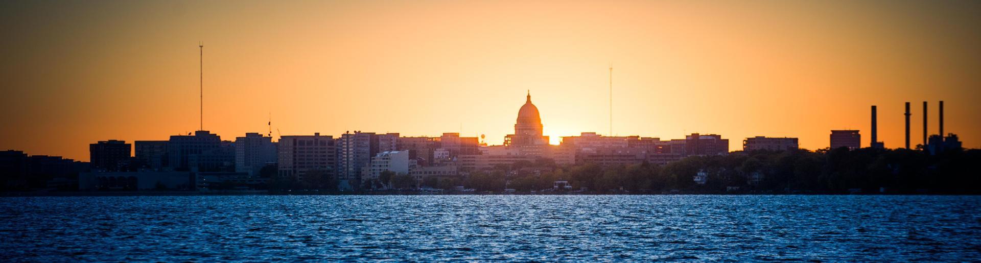 Capitol Skyline at Sunset