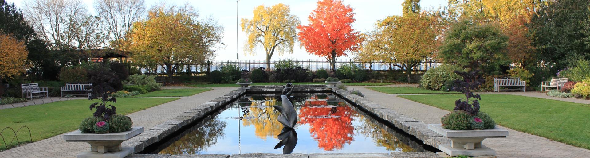 Olbrich Gardens Water Fountain