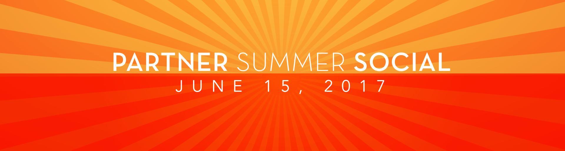 Partner Summer Social