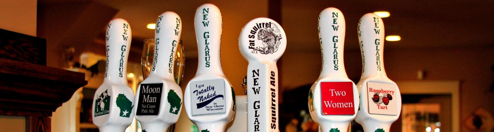 New Glarus Taps