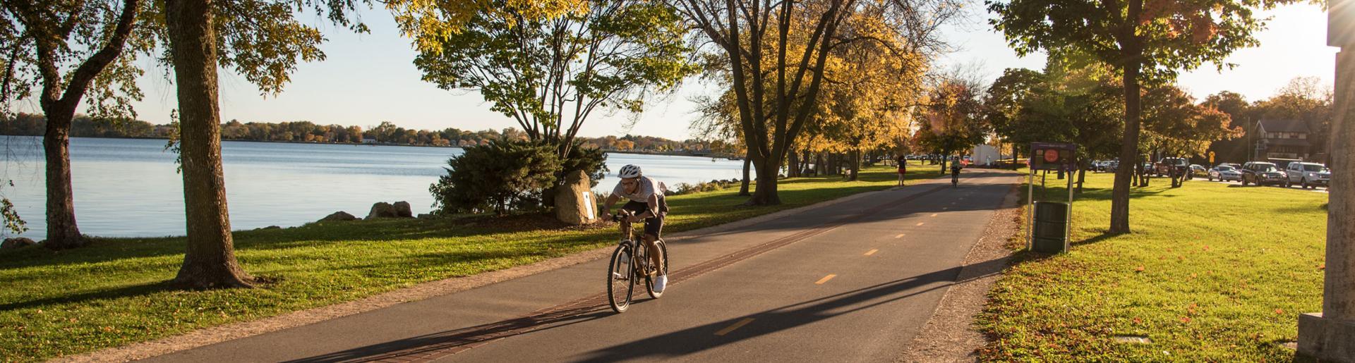 Fall Bike Path