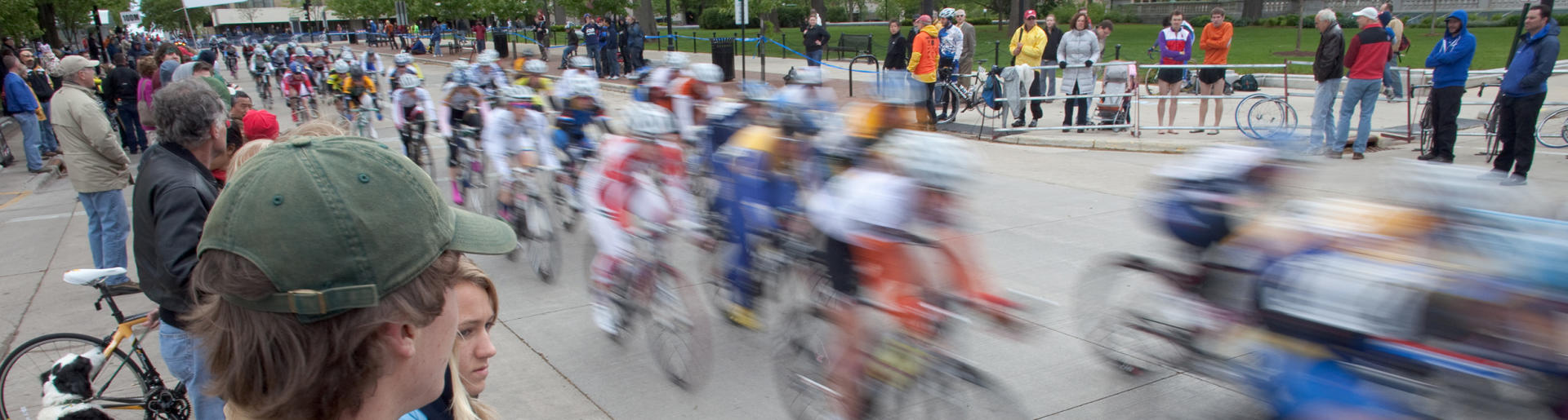 Bike Race in Madison