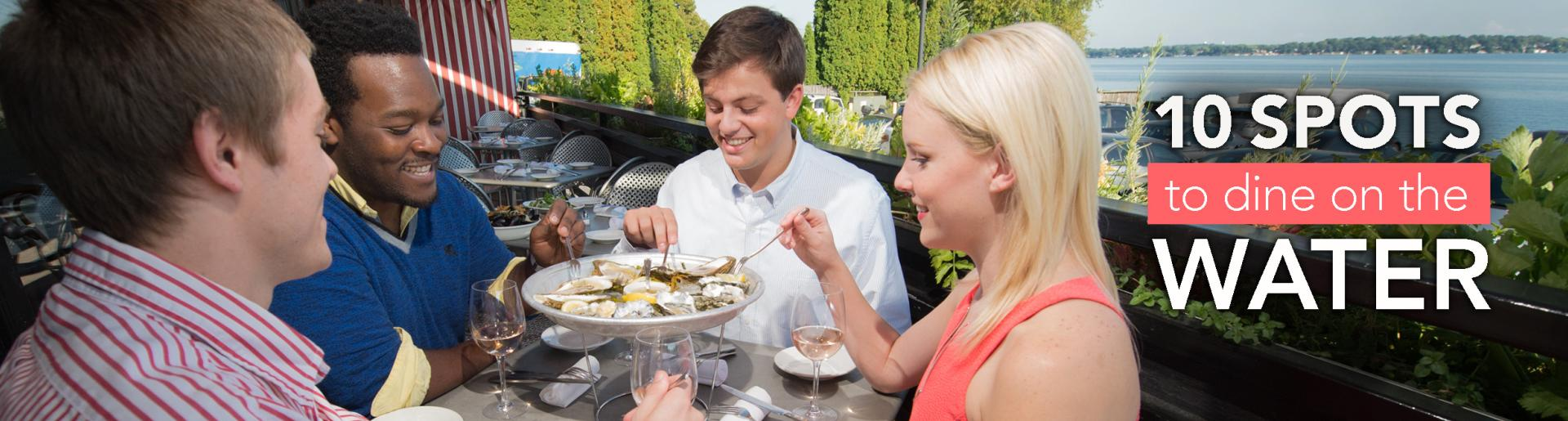 10 Spots to Dine on the Water