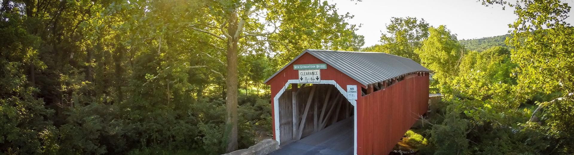 Hershey covered bridge