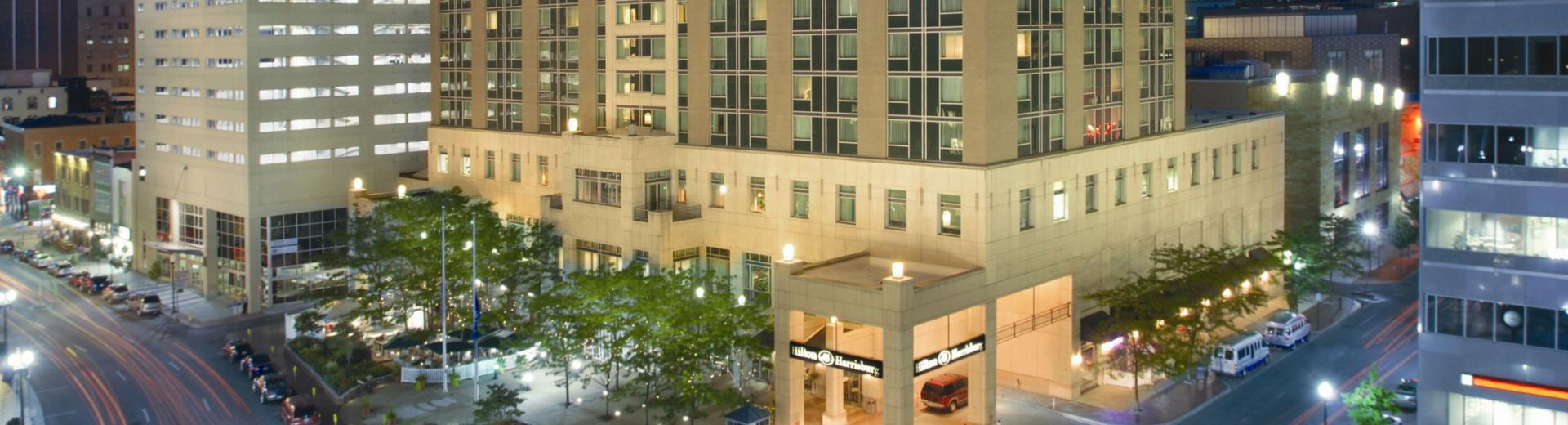 Hershey hotel exterior