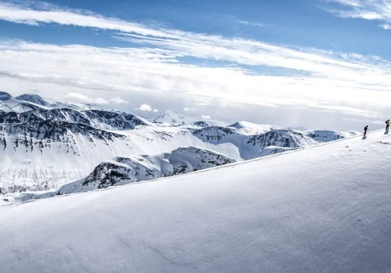 Ski touring in Sunnmøre