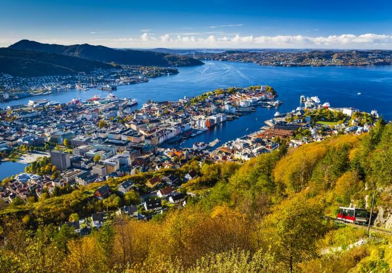 Fløyen, Bergen