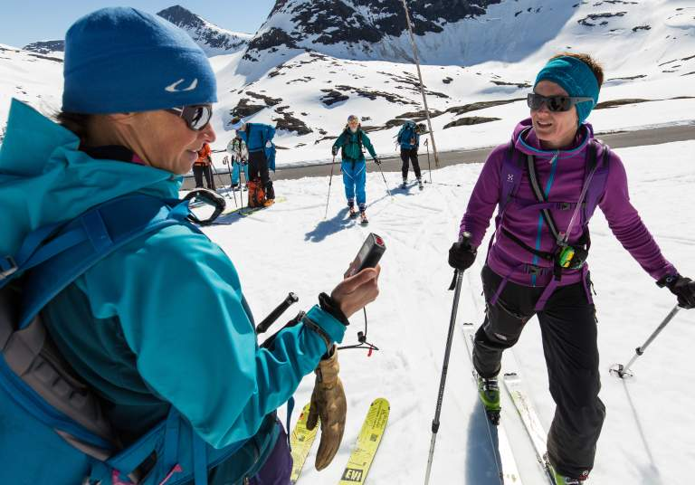 Safety first on your ski-touring trip