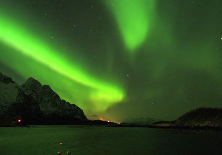 Northern Lights in Lofoten, Northern Norway
