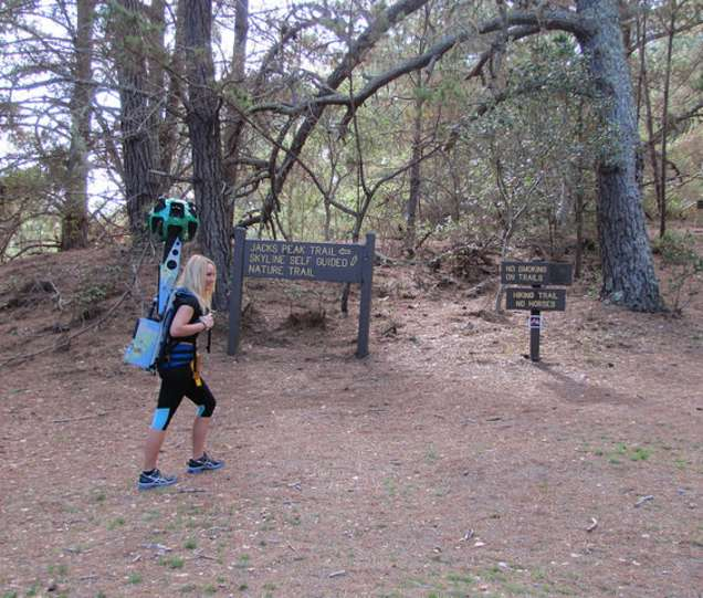 See Montereys Remote Trails And Viewpoints On Google Maps Street - Google maps trails