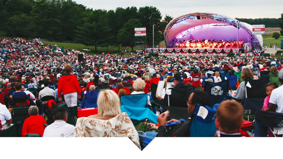 2018 Concert Schedule: Kroger Symphony on the Prairie