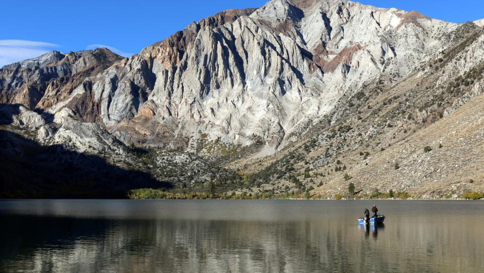 Convict Lake october 4