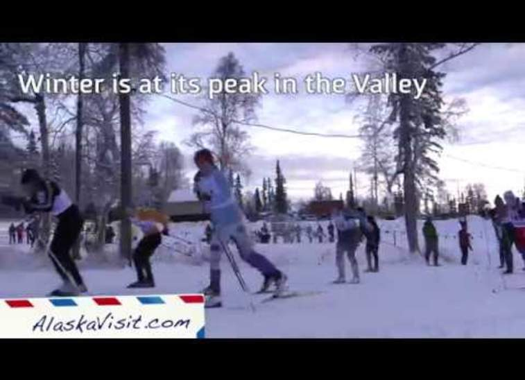 Nordic skiing in the Mat-Su Valley