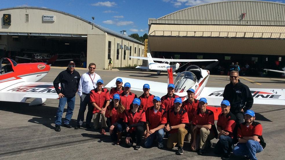Airplane crew