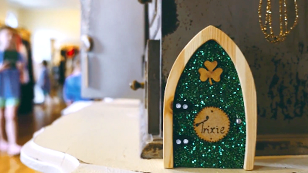Irish Fairy Doors of Dublin Trail