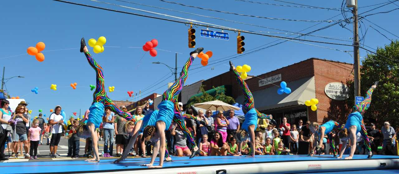 Mayfest in Rutherfordton}