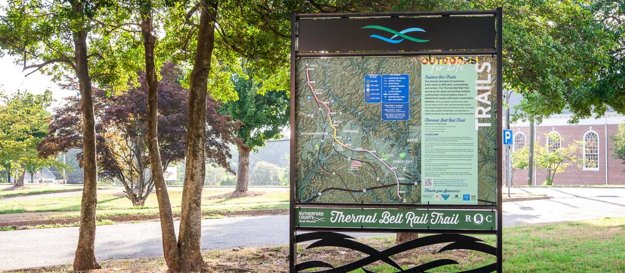 Thermal Belt Rail Trail in Spindale}