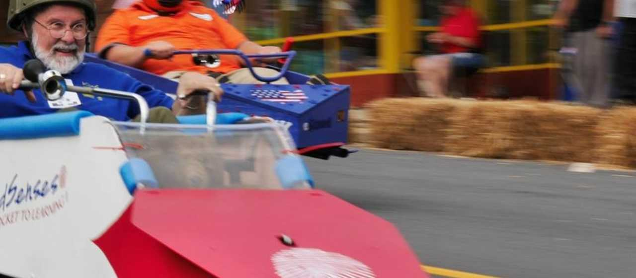 Soapbox Derby downtown Rutherfordton}