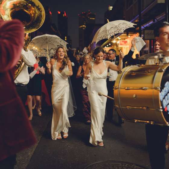 Lesbian Wedding in the French Quarter