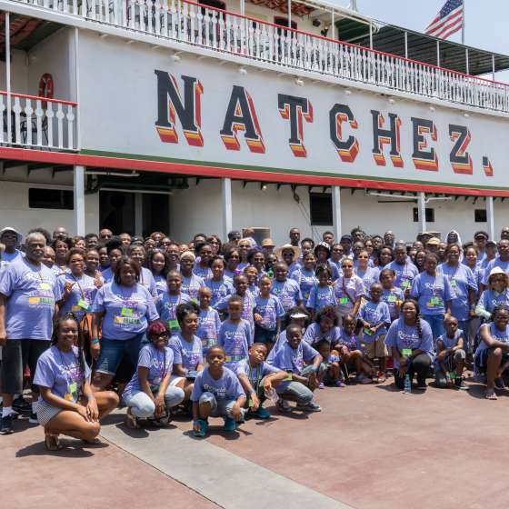 Reynolds Family Reunion 2015 - Steamboat Natchez