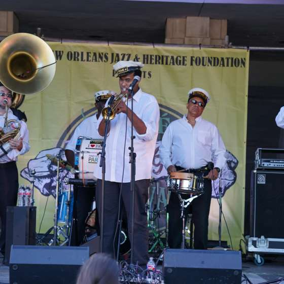 Treme Brass Band - Treme Creole Gumbo Fest 2016 - Armstrong Park