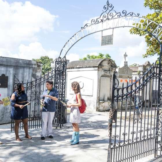 Lafayette Cemetery Tour