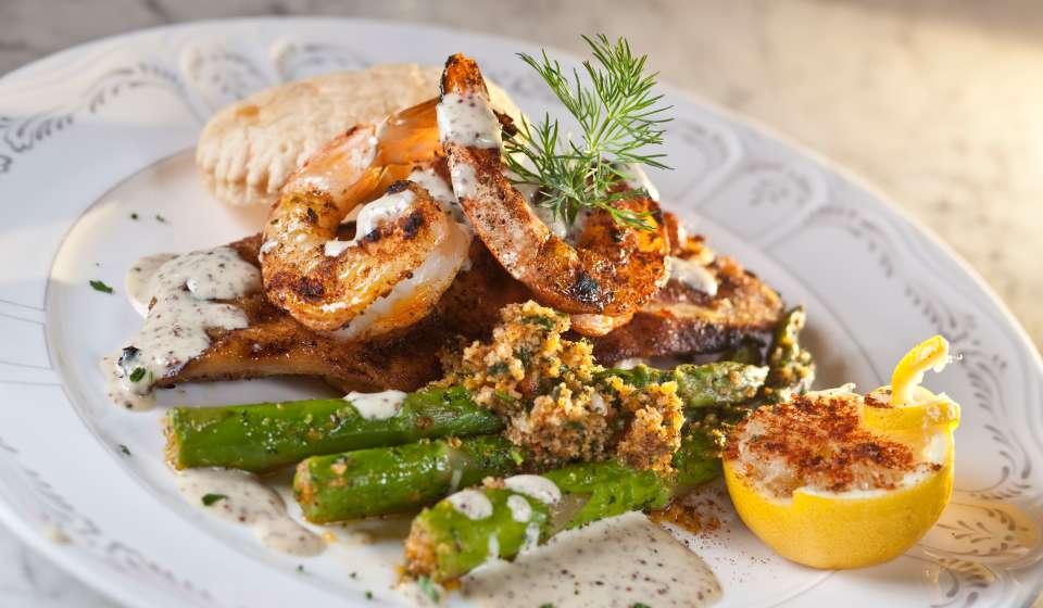 Spicy Shrimp Boil from Lula Distillery