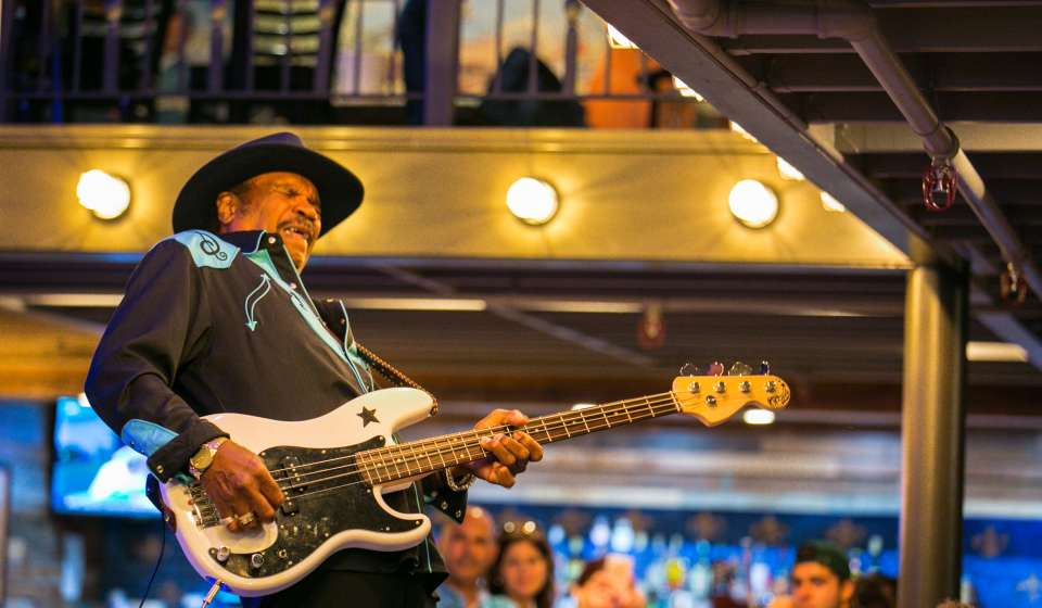 Benny Turner at B.B. King's Blues Club