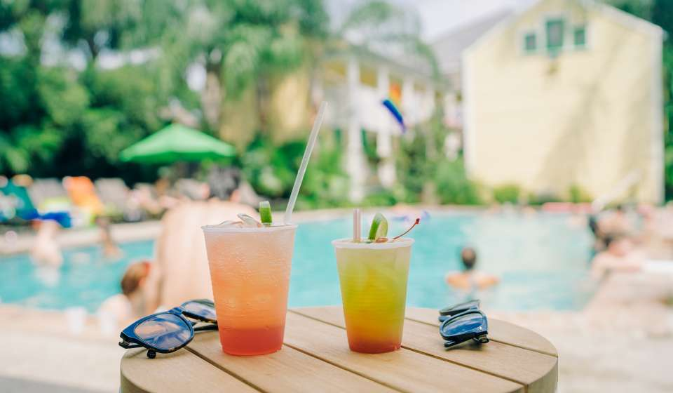 Drinks at the Country Club