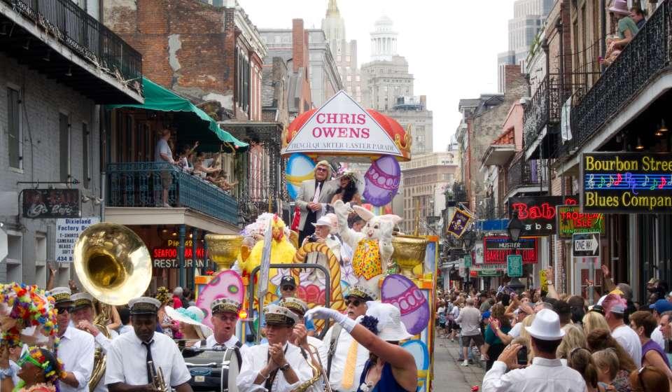 Chris Owens Easter Parade