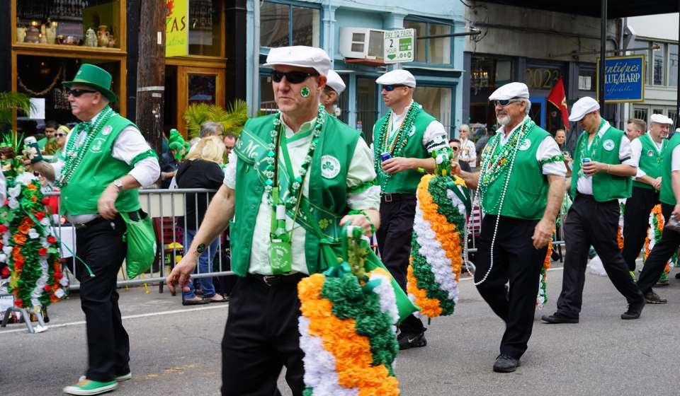 Irish Channel St. Patrick's Day Parade 2015