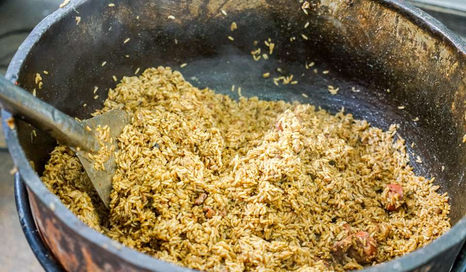 French Market - Making Jambalaya