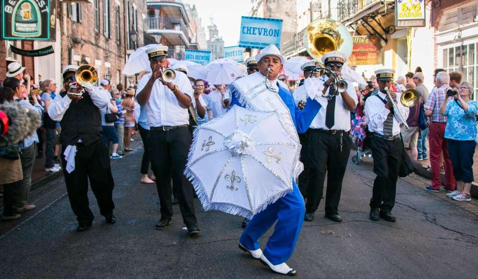 French Quarter Festival Second Line Parade