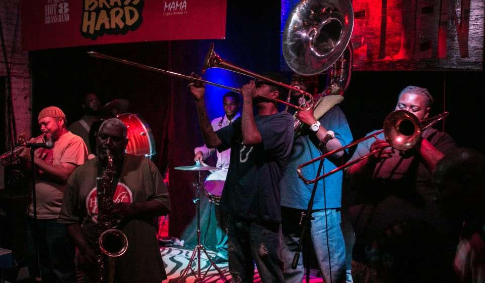 The Hot 8 Brass Band- Howlin Wolf Den