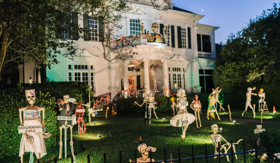Berger Residence - St. Charles Avenue and State Street - Skeletons
