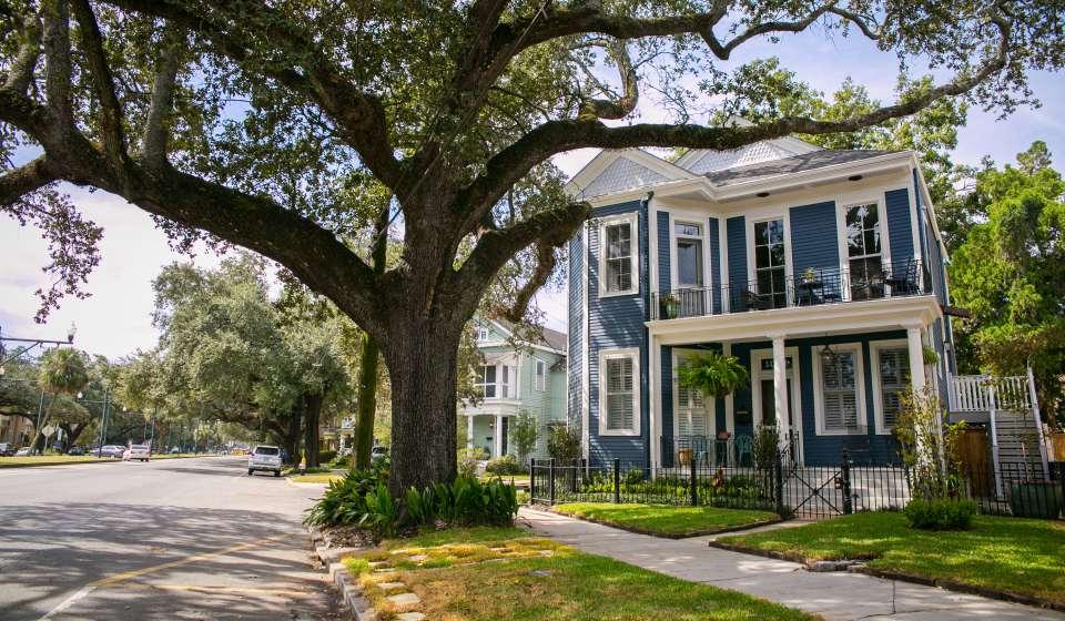 Carrollton Avenue Street Scene