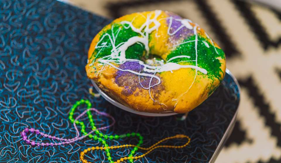 Bywater Bakery - King Cake (pre-opening)