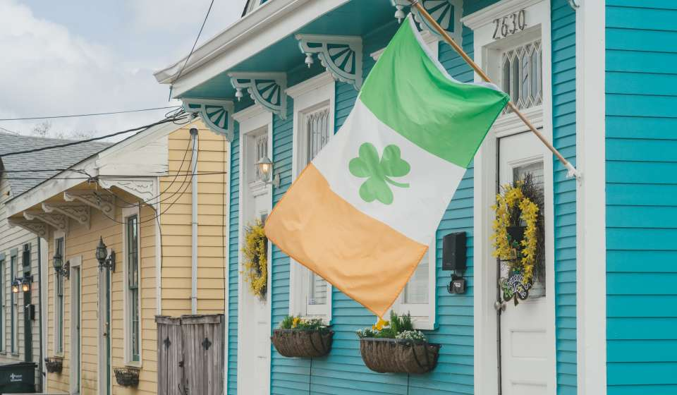 Irish Channel St. Patrick's Day Color