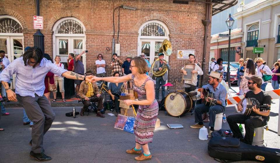 Street Performer- French Quarter Festival