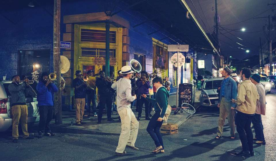 Dancing on Frenchmen Street