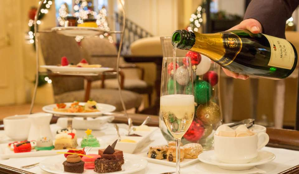 Holiday Afternoon Tea at the Ritz Carlton