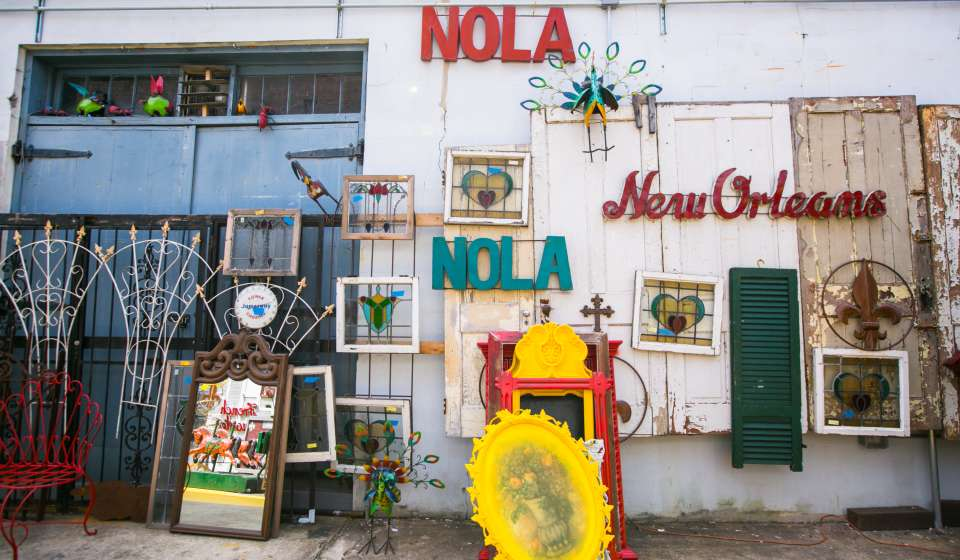 Second Line Art and Antiques