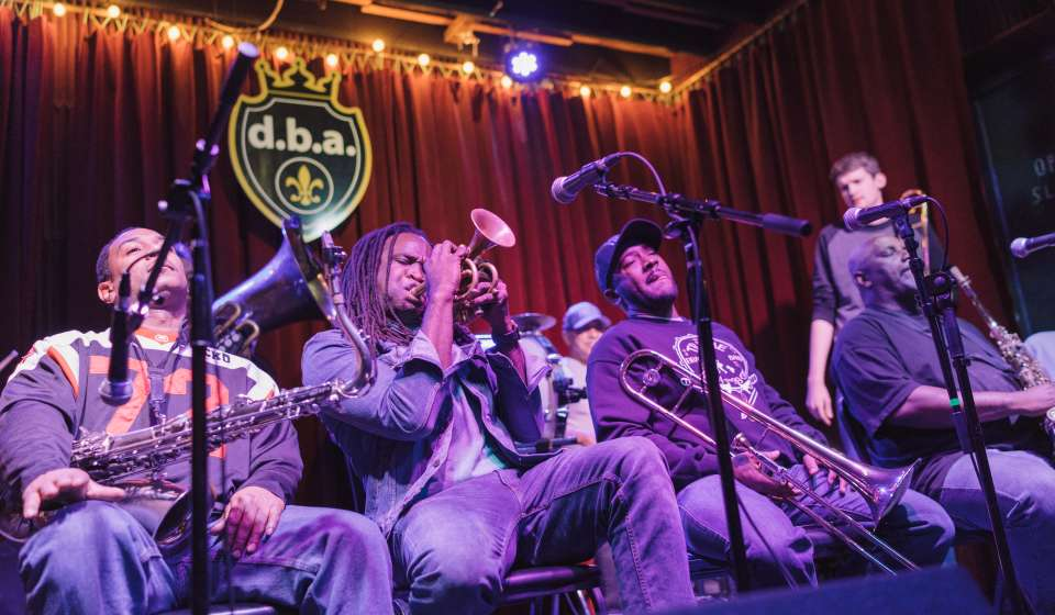 Treme Brass Band at d.b.a.