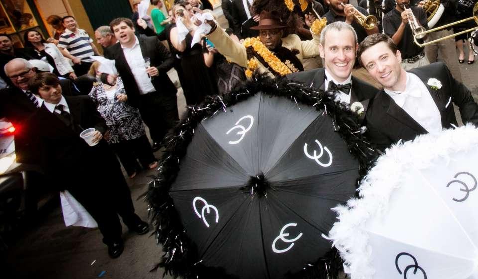 Second Line Parade Wedding