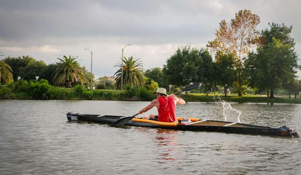 Kayaking on Bayou St. John