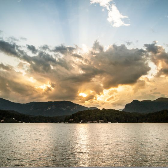 Lake Lure/Rutherford County - Best Mountain Lake Getaway - The Carolinas 2016
