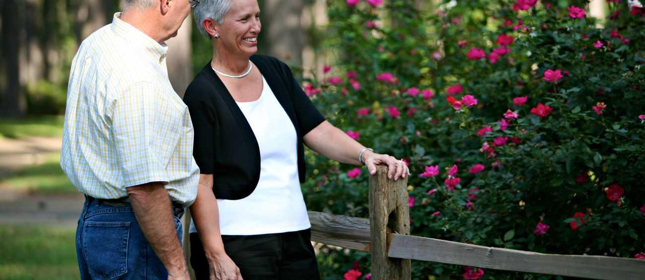American Rose Center Garden